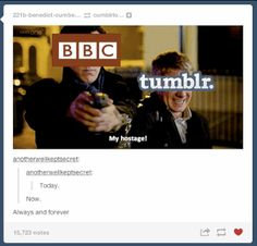 "The ""Sherlock"" Season 3 Finale Caused Tumblr To Self-Destruct ALSO anyone want to notice how sherl clicked the SAFTEY on once he aimed it at John?"
