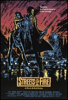 Streets of Fire 1983 Original Movie Poster #FFF-19238 - FFF Movie Posters
