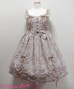 Angelic Pretty ホイップジャガードジャンパースカート