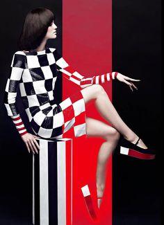 Samantha Rayner by Chris Nicholls for Fashion Magazine May 2013