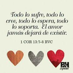 1ra Corintios 13 El Amor Léelo hazlo carne