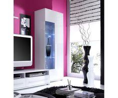 Vitrine blanche - Vitrine - blanche #meublesalon Flat Screen, House Design, Home, Display Case, Furniture, Blood Plasma, Flat Screen Display, House, Homes