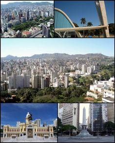 Belo Horizonte, capital do estado de Minas Gerais