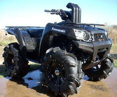 Lifted Four Wheelers Mudding Mud Digger, Polaris Ranger Crew, Motorcycle Dirt Bike, Terrain Vehicle, Atv Four Wheelers, Dirtbikes, Bike Design, Go Kart, Monster Trucks
