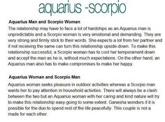 What You Need to Know About Scorpio and Aquarius's Love Compatibility