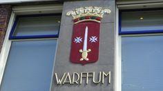 Het wapen van Warffum, één van de mooiste plaatsen in de provincie Groningen