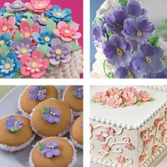Wilton Course 2 - Flowers and Cake Design - the natural course to take after the Decorating Basics course ... cannot wait ...