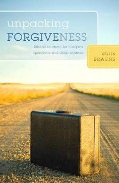 This book helps readers move beyond the wounds and baggage of bitterness, disagreements, and broken relationships.