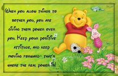 keep positive quotes cute positive quotes quote positive quote winnie the pooh