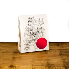 Fetch & Follow's British Tea Party Dog Treats are hand-baked in London using high quality ingredients.