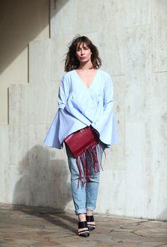 Recent Street Style: Irina Lakicevic. #LIVE on #ATPB