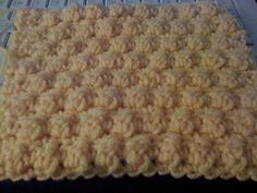 How to crochet bumpy square stitch #crochet #DIY #craft #afghan