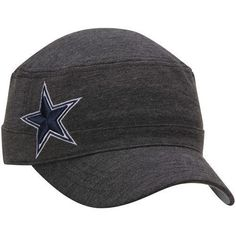 Womens-Dallas-Cowboys-New-Era-Heather-Black-Night-Faller-Adjustable-Hat