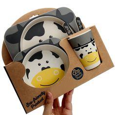 Smart Serve Skip Hop Baby Plate Non-Slip Rubber Grip 2 Pack Fox