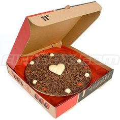 Chocopizza. Valentine's Chocolate pizza treat. Large or personal pan?