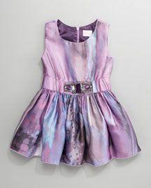jeweled watercolor dress by zoe ltd at neiman's