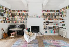 Books! An inside look into a Scandinavian house in the center of Ghent 19 ¤