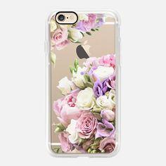Pink, lilac and white vinatge flowers iPhone 6s Case by Marta Olga Klara…