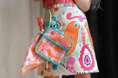 DIY Simple Sewing -  Cutest Kids Work Apron Ever