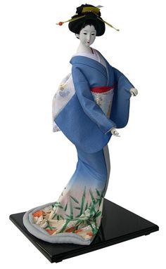 японская традиционная кукла