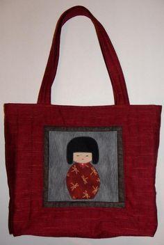 That Japanese Doll Bag via Craftsy