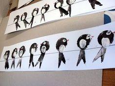 S dětmi ve školce si vyprávíme o podzimu, o počasí na podzim, o padání listů, sklízení ovoce a také o ptácích, kteří odlétají na jih. A ta... Fall Arts And Crafts, Diy And Crafts, Crafts For Kids, Autumn Art, Painting Lessons, Art Plastique, Art For Kids, Fall Decor, Projects To Try