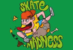 Skateboard madness, nothing else to say...