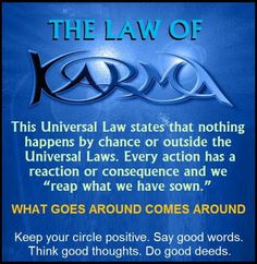 Universal Law of Karma