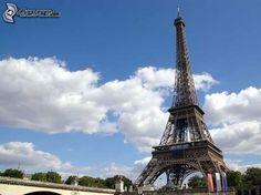 Tour Eiffel, nuages