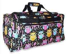 Ever Moda Owl 22 inch Duffle Bag Multicolor Ever Moda https://www.amazon.com/dp/B06VV885W5/ref=cm_sw_r_pi_dp_x_6cOUyb22DVVBQ