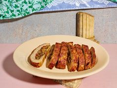 Polpettone Stuffed With Eggplant And Provolone Recipe - NYT Cooking