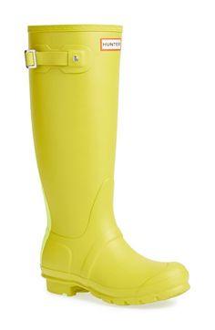 Bright yellow Hunters | Nordstrom