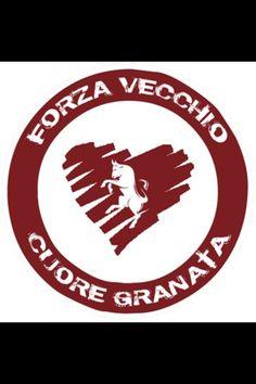 Forza vecchio cuore granata Torino Fc, Convenience Store, Logos, Style, Sports, Italia, Convinience Store, Stylus, A Logo