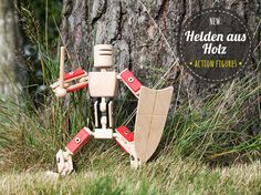 Helden aus Holz • wooden action figures • made in Germany
