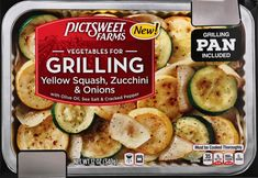 WED Kroger - PictSweet Farms Vegetables for Grilling Yellow Squash Zucchini & Onions, 12 oz Honeymoon Packing, Yellow Squash And Zucchini, Cracked Pepper, Frozen Vegetables, Onions, Farms, Harvest, Grilling, Dinner