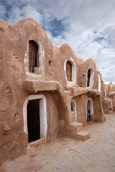 Ksar Haddada. Tunisia. © Inaki Caperochipi Photography