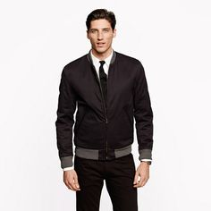 Wallace & Barnes bomber - cotton - Men's outerwear - J.Crew ($298)