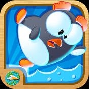 Stay on the Ice by SeaWorld Kids is an addicting game that is fun for all ages! The app features brightly colored penguins slipping and sliding around in time to cheerful music.