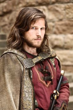 He makes a good Boromir! Could be Faramir too, but the look in his eyes has me leaning Boromir.