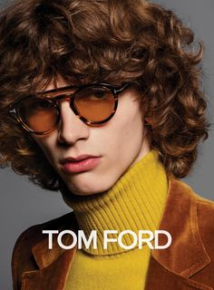 Tom Ford unveiled its Fall/Winter 2016 campaign, starring Erik van Gils and Tre Samuels captured by the lens of Inez van Lamsweerde & Vinoodh Matadin and styled by Carine Roitfeld. Tom Ford Eyewear, Tom Ford Sunglasses, Round Sunglasses, Sam Mcknight, Carine Roitfeld, Costume, Cool Style, Style Men, Fashion Photography