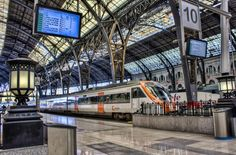 Barcelona Renfe Station by David O'Connor, via 500px