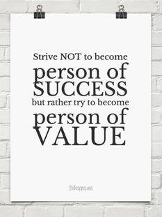 Give value.
