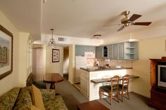 Disney's Saratoga Springs Resort & Spa - Guest Room Kitchen, Walt Disney World Resort