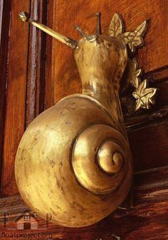 Creative door knob and door handle designs
