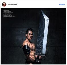 Asian muscle men featured in steamy photos with cultural flavor | SoraNews24