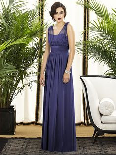 "Dessy Collection Style 2890 ""Ella"" Dress $345 - http://fashionably-yours.com.au/ella-dress-in-windsor-blue-by-dessy/"
