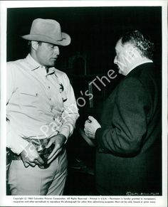 "AFY-734 Vintage Photo- Marlon Brando in ""The Chase"" (1966)"