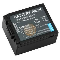 Li-Ion Battery for Panasonic DMW-BLB13 DMW-BLA13 Compatible Digital Cameras by eForCity. $8.30