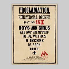 Proclamation No.31 - Poster - MinaLima Store