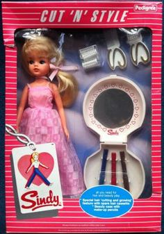 1984 Cut 'n' Style Sindy Doll - BNIB Mint in Box
